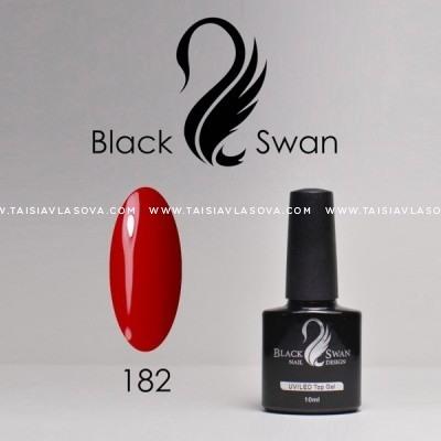 Красный гель-лак Black Swan 182