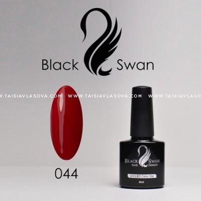 Красный гель-лак Black Swan 044
