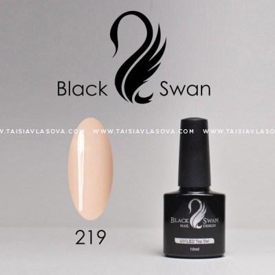 Купить нюдовый гель-лак Black Swan 219
