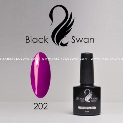 Насыщенный сиреневый гель-лак - Black Swan 202