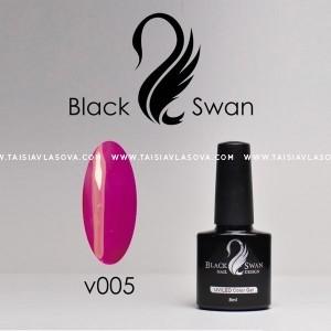 Гель-лак витражный Black Swan v005 / 8 мл