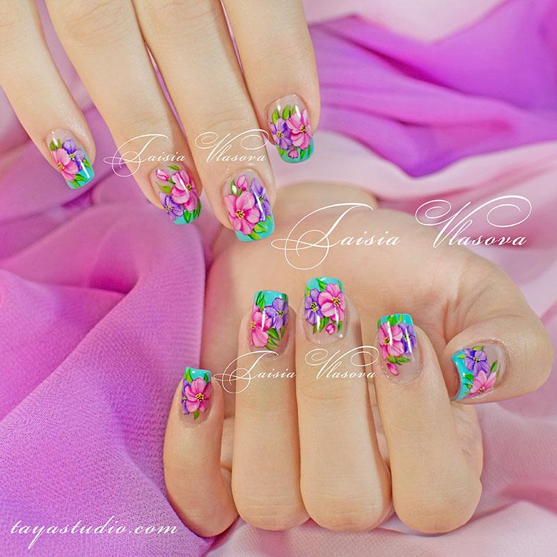 Дизайн Ногтей Цвет Хаки Фото