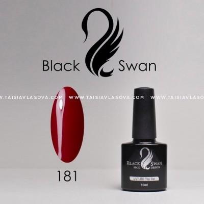 Бордовый гель-лак Black Swan 181