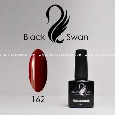 Бордовый гипоаллергенный гель-лак Black Swan 162