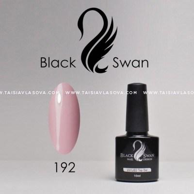 Гель-лак розового оттенка Black Swan 192