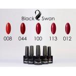 Палитра гель-лаков красных тонов от ТМ Black Swan