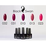 Палитра гель-лаков фиолетовых и розовых тонов - Black Swan