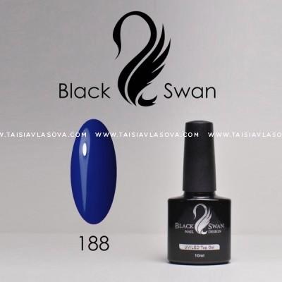 Синий гипоаллергенный гель-лак - купить Black Swan 188