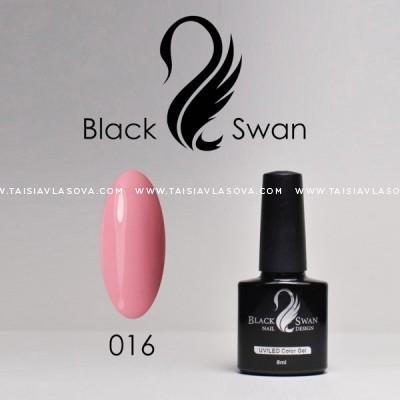 Светло-розовый гипоаллергенный гель-лак Black Swan 016