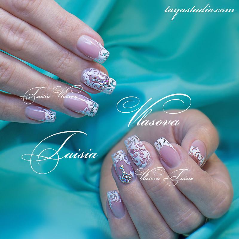 Дизайн ногтей фото ажур