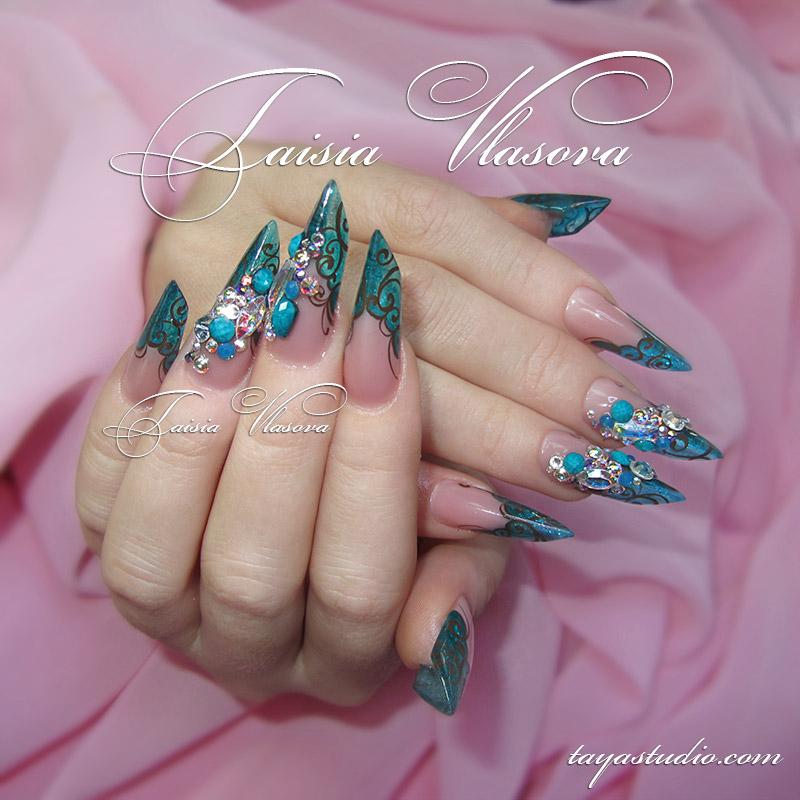 Качественные акриловые краски для ногтей
